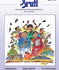 Sruti Magazine Cover - February 2008