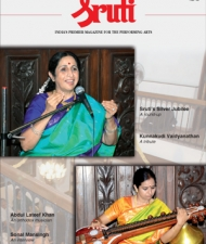 Sruti Magazine Cover - November 2008
