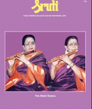 Sruti Magazine Cover - November 2010