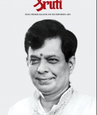 Sruti Magazine Cover - October 2011 - M Balamuralikrishna