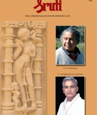 Sruti Magazine Cover - January 2011