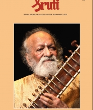 Sruthi Magazine Cover - April 2012 - Pandit Ravishankar