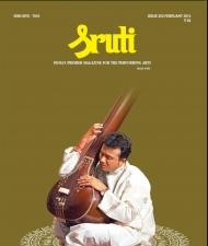 Sruti Magazine Cover - February 2014 - P. Unnikrishnan