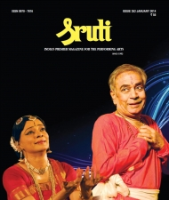 Sruti Magazine Cover - January 2014