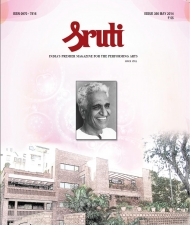 Sruti Magazine Cover - May 2014