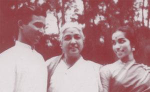 Dhananjayan, Rukmini Devi and Shanta