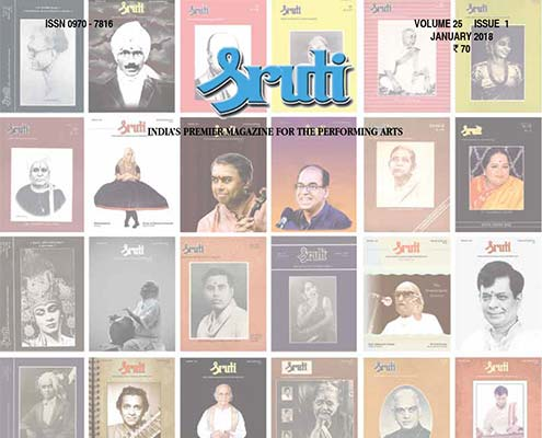 Sruti Magazine 2018 Covers