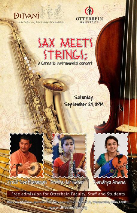 Anvita Hariharan - SaxophoneSandhya Anand - ViolinVinod Seetharaman