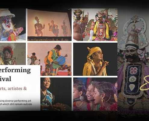 An Online Performing Arts Festival