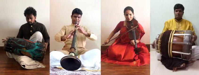 Rise; by Carnatic Quartet