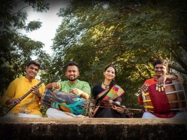 A Carnatic Quartet