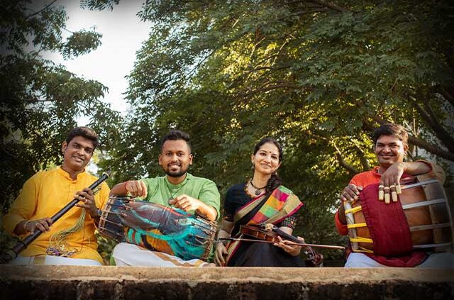 A Carnatic Quartet