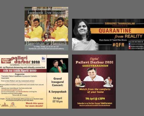 Leveraging social media as a platform for Carnatic music