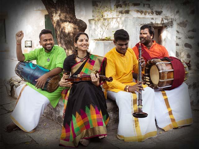 'Rise', by A Carnatic Quartet