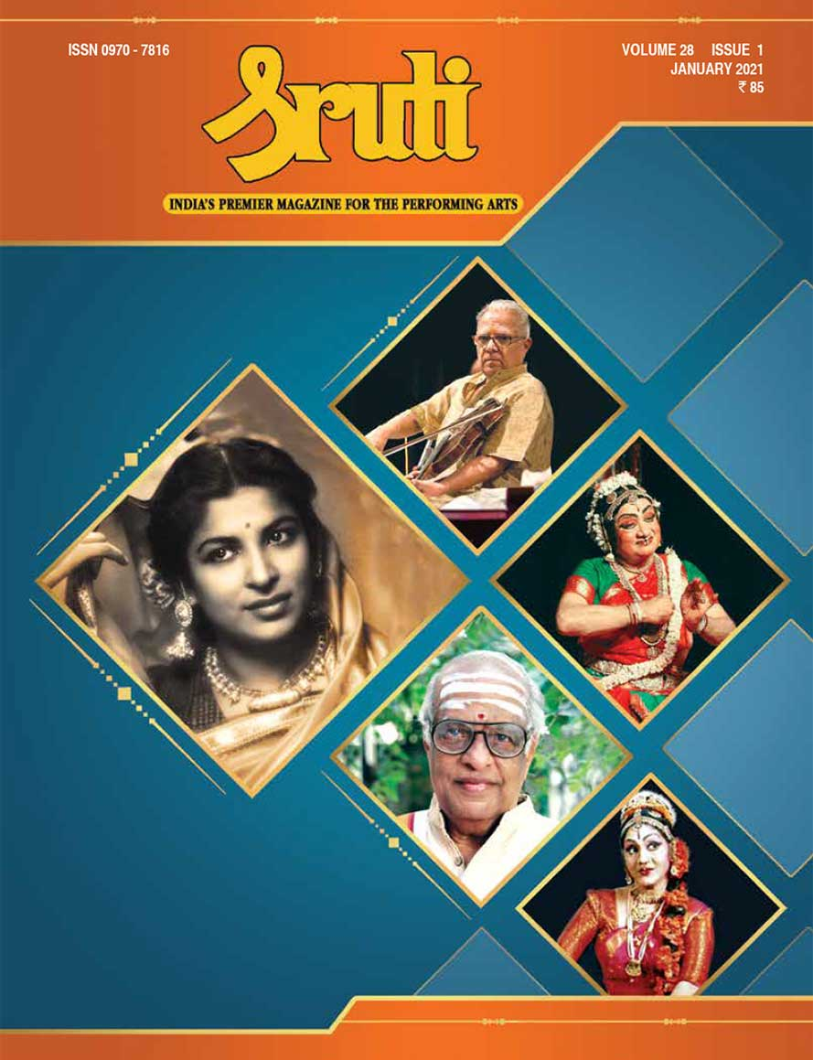 Sruti Magazine Covers - 2021