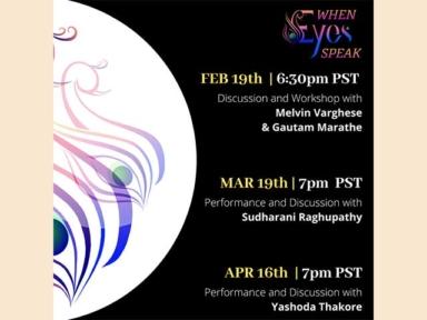 When Eyes Speak - Indian Choreography Festival 2021 Pass