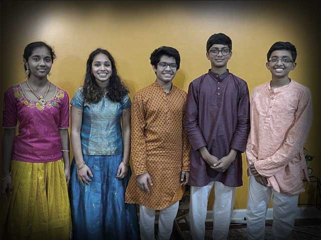 Music Students of Columbus Sing for Dhvani