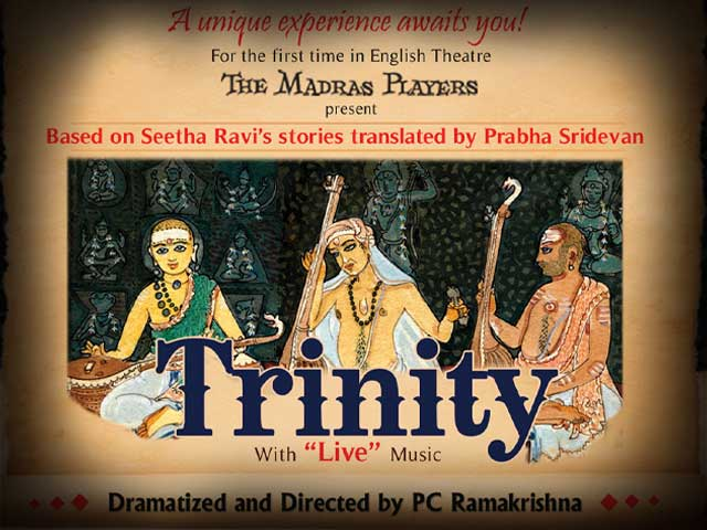 Trinity - a Carnatic musical play in English