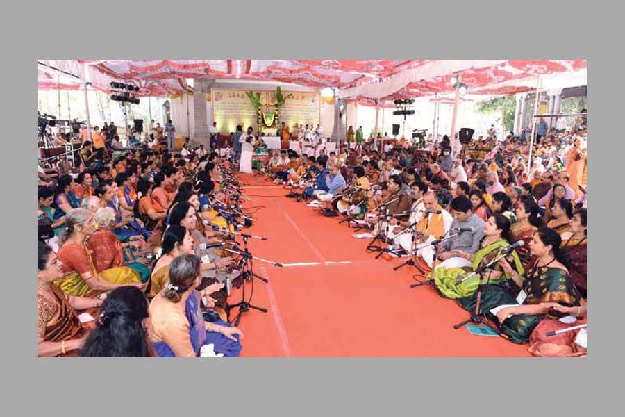 Tyagaraja aradhana in Bengaluru