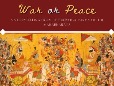 War or Peace; story from the Mahabharatha